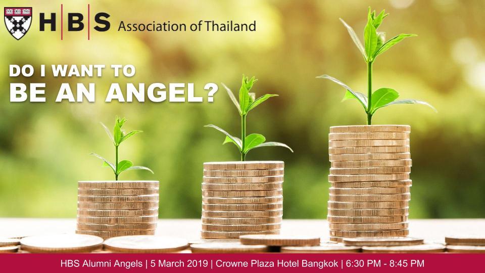 Harvard Business School Association of Thailand - Angels
